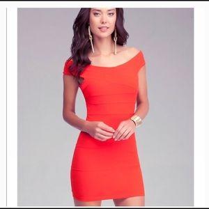 ❤️Bebe Off Shoulder Bodycon Dress ❤️